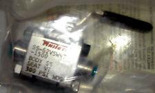 SWAGELOK WHITEY  # SS-62VSW4T-1500 1/4 TURN BALL VALVE  -WS-1 CLEANED