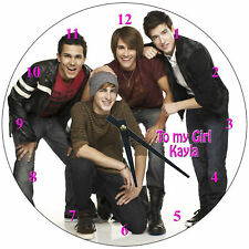 Personalized Big Time Rush Wall Clock  (Hot)