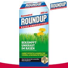 Roundup Rasen-Unkrautfrei 250 ml Konzentrat Wegerich Löwenzahn Klee Bekämpfung
