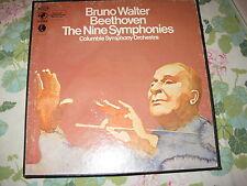 BRUNO WALTER ~ BEETHOVEN ~ THE NINE SYMPHONIES ~ COLUMBIA SYMPHONY ~ #Y7 30051