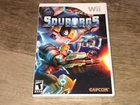 Spyborgs Nintendo Wii Brand New Factory Sealed