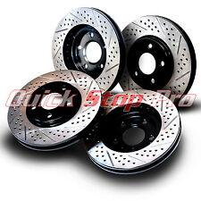 HON005SD Accord LX LX-S SE Performance Brake Rotors 08-12 SET Double Drill