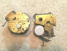 2 Lg Vtg Clock Parts Only Movements Motors Motor Chime Steampunk Art Crafts Used