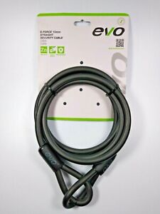 EVO E-Force 10mm X 2200mm Straight Security Cable