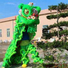 Lion Mascot Dance Costume Wool Southern Lion Chinese Folk Art Adults Cosplay