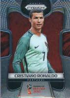 2018 Panini Prizm World Cup #154 Cristiano Ronaldo Portugal Soccer Card