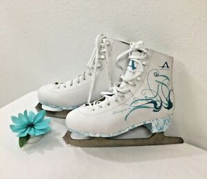 Dancing On Ice Figure Skates Womens Size 9 American Shoe Co Ice Skates