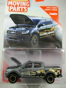 Matchbox 1:64 Moving Parts Series 2020 -  2019 Ford Ranger- Skyjacker   Grey
