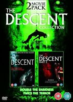 The Descent and The Descent Part 2 [DVD][Region 2]