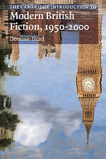Camb Int Mod Brit Fiction 1950-2000 (Cambridge Introductions to Literature), 052