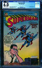 Superman #90 CGC 6.0 -- 1954 -- Lex Luthor app. 11 higher. #0330651017