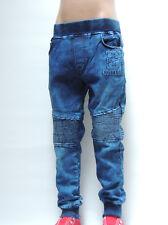 B&Q3091-JUNGEN-Kinder-JOGG-Jeans-FREIZEITSWEETHOSE~Gr.4-12~SchnäppchenCorner~NEU