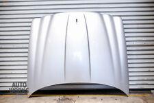 04-07 Jaguar X350 XJR-S XJ8 Vanden Plas Hood Panel Shell Paint MDZ Silver OEM