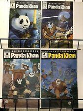 CHRONICLES OF PANDA KHAN 1-4 (1987) anthropomorphic techno fantasy HE'S BACK
