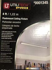 NEW Utilitech Pro 0001345 4' Flushmount LED Ceiling Light Fixture