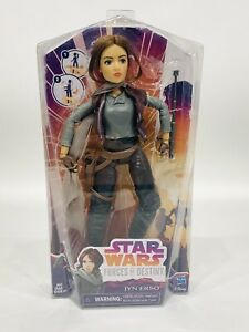 Star Wars Forces of Destiny JYN ERSO  Action Figure Doll Hasbro Disney NEW