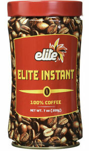 Elite Instant 100% Pure Coffee, 7 oz. KOSHER FOR PASSOVER ! FREE SHIPPING !