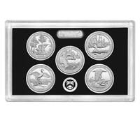 2018 S Silver Quarters 2018 Proof Set Without Box And COA Pristine Examples
