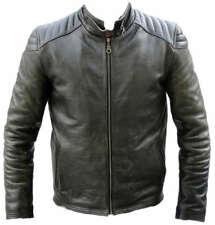 BIKER JACKET,JACKET,LEATHER,MOTORCYCLE, LEATHER JACKET,SIZE M