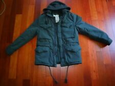Ralph Lauren Denim and Supply Military Blue Navy Medium Hood Coat Jacket M