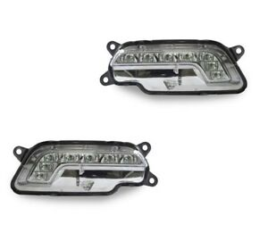PAIR FRONT DAYTIME RUNNING FOG LIGHT SET FOR MERCEDES BENZ W207 C207 A207 Coupe