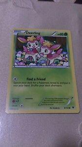 Deerling Pokemon Card COMMON [FATES COLLIDE]