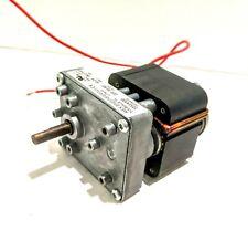 Rex Engineering Gear Motor D69477 Class B Electric 220VAC 50/60HZ (80501478)