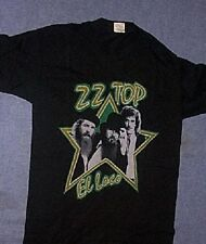 Original Vintage 1982 Zz Top El Loco T Shirt Black