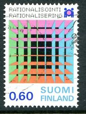 Finland Stamps Scott #549 Rationalization Year 1974