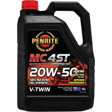 Penrite MC-4ST PAO & Ester V Twin Motorcycle Oil 20W-50 4 Litre