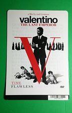 V VALENTINO THE LAST EMPEROR ART COVR MINI POSTER BACKER CARD (NOT a movie dvd )