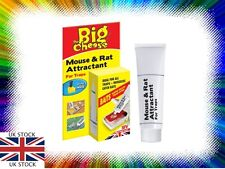 THE BIG CHEESE MOUSE & RAT ATTRACTANT TRAP BAIT INCREASES CATCH RATE FREE P&P