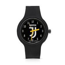 Orologio da Polso al Quarzo Juventus One Unisex Nero Lowell 37 mm Impermeabile