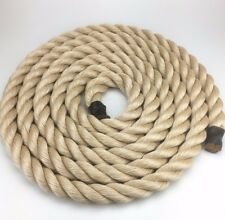 50mm Synthetic Sisal Decking Rope x 100 Metres, Cheap Rope For Decking Garden