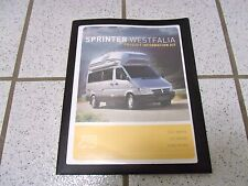 AIRSTREAM WESTFALIA Dodge Sprinter COLLECTABLE DealerProduct Info Kit.