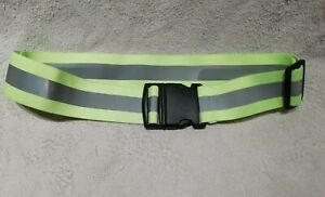 High Visibility Safety Elastic Reflective Belt, Military Issue, traffic, cycling