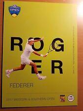 Roger Federer - 2017 Western & Southern Atp Tennis 5 x 7 Player Card