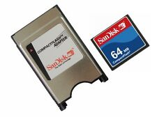 SanDisk 64MB KOMPAKT BLITZ + PCMCIA Adapter = 64MB ATA Flash Datenträger für CNC