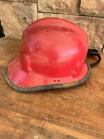 Cairns & Brothers 770 Fireman Firefighter Helmet Fire Rescue Red Vintage 1969