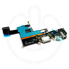 """For iPhone 6 4.7"""" Grey Charging Port Charger Flex Headphone Jack Replacement"""