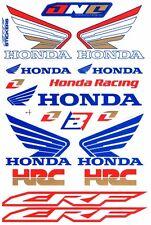 1 SHEET NEW HONDA HRC CAR MOTOCROSS ATV ENDURO BIKE RACING DECAL STICKER SK170