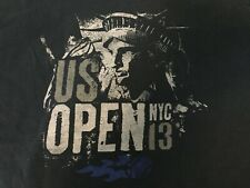2013 US OPEN TENNIS Statue of Liberty New York T-SHIRT Med