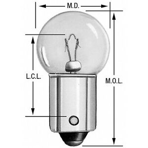 Instrument Panel Light Bulb Wagner Lighting 57