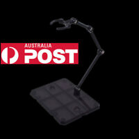 Action Base Suitable Display Stand Black for 1/144 MG/HG/RG Gundam/Figure Clear