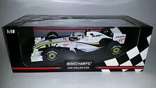 Minichamps F1 Brawn GP BGP 001 2009 Rubens Barrichello 1/18