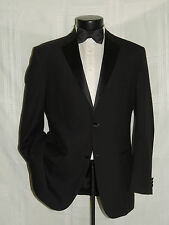 WILKE RODRIGUEZ MOD 2 Button side vent men's formal TUXEDO jacket size 58 Long