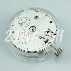 Seagull ST1902 TY2902 Mechanical Chronograph 3 Eyes ST19 Hand-winding Movement