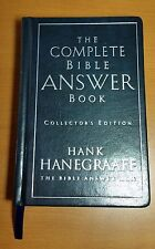 The Complete Bible Answer Book Collector's Edition Hank Hanegraaff