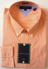 Tommy Hilfiger Long Sleeved Check Cotton Shirt Size 17 (36-37)