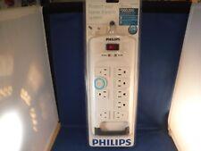New Philips SPP3202WA/17 Home Theatre Surge Protector NIB